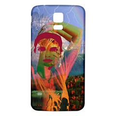 Fusion With The Landscape Samsung Galaxy S5 Back Case (White)