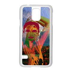 Fusion With The Landscape Samsung Galaxy S5 Case (white)