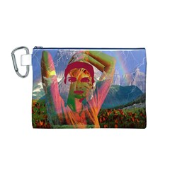 Fusion With The Landscape Canvas Cosmetic Bag (Medium)