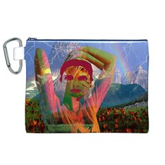 Fusion With The Landscape Canvas Cosmetic Bag (XL)