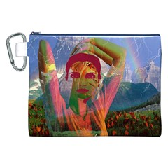 Fusion With The Landscape Canvas Cosmetic Bag (XXL)