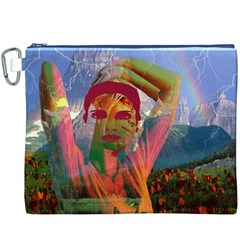 Fusion With The Landscape Canvas Cosmetic Bag (XXXL)