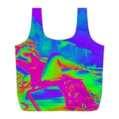 Seaside Holiday Reusable Bag (l)