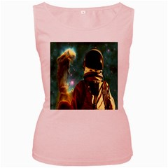 Lost In The Starmaker Women s Tank Top (pink)