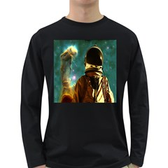 Lost In The Starmaker Men s Long Sleeve T Shirt (dark Colored)