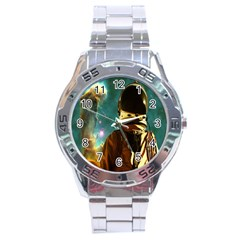Lost In The Starmaker Stainless Steel Watch