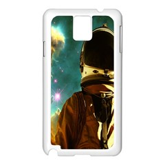 Lost In The Starmaker Samsung Galaxy Note 3 N9005 Case (White)