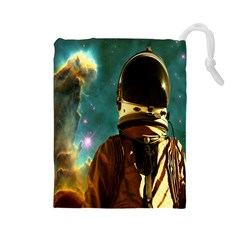Lost In The Starmaker Drawstring Pouch (Large)