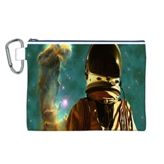 Lost In The Starmaker Canvas Cosmetic Bag (Large)