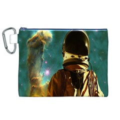 Lost In The Starmaker Canvas Cosmetic Bag (XL)