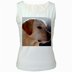 3 Labrador Retriever Women s Tank Top (White)