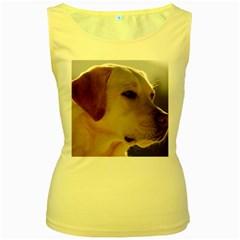 3 Labrador Retriever Women s Tank Top (Yellow)