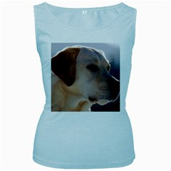 3 Labrador Retriever Women s Tank Top (Baby Blue)