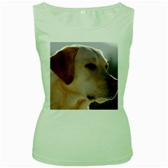 3 Labrador Retriever Women s Tank Top (Green)