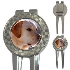 3 Labrador Retriever Golf Pitchfork & Ball Marker