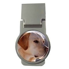 3 Labrador Retriever Money Clip (Round)