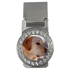 3 Labrador Retriever Money Clip (CZ)