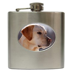 3 Labrador Retriever Hip Flask