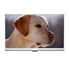 3 Labrador Retriever Business Card Holder
