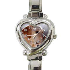3 Labrador Retriever Heart Italian Charm Watch