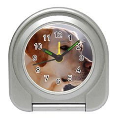 3 Labrador Retriever Desk Alarm Clock
