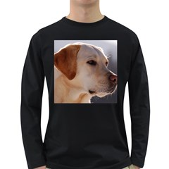 3 Labrador Retriever Men s Long Sleeve T-shirt (Dark Colored)