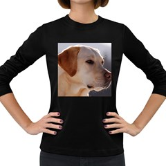 3 Labrador Retriever Women s Long Sleeve T-shirt (Dark Colored)