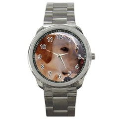 3 Labrador Retriever Sport Metal Watch