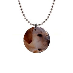 3 Labrador Retriever Button Necklace