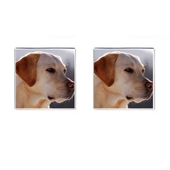 3 Labrador Retriever Cufflinks (Square)