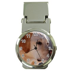 3 Labrador Retriever Money Clip with Watch