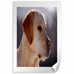 3 Labrador Retriever Canvas 24  x 36  (Unframed)