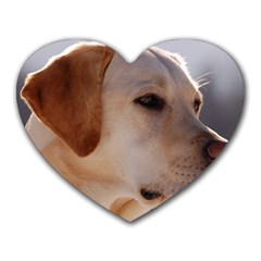 3 Labrador Retriever Mouse Pad (Heart)