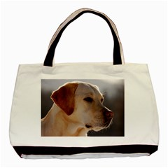 3 Labrador Retriever Twin-sided Black Tote Bag