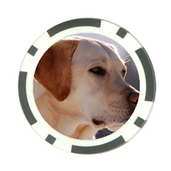 3 Labrador Retriever Poker Chip