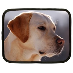 3 Labrador Retriever Netbook Sleeve (Large)