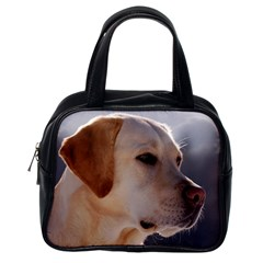 3 Labrador Retriever Classic Handbag (One Side)