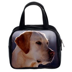 3 Labrador Retriever Classic Handbag (Two Sides)
