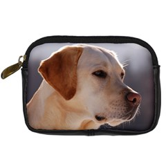 3 Labrador Retriever Digital Camera Leather Case