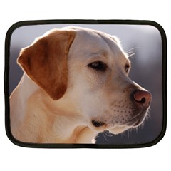 3 Labrador Retriever Netbook Sleeve (XL)