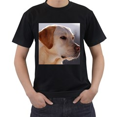 3 Labrador Retriever Men s T-shirt (Black)