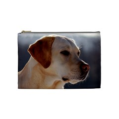 3 Labrador Retriever Cosmetic Bag (Medium)