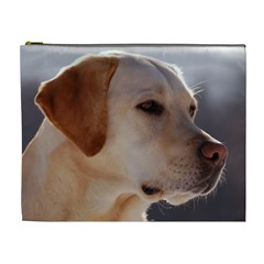3 Labrador Retriever Cosmetic Bag (XL)