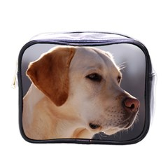 3 Labrador Retriever Mini Travel Toiletry Bag (One Side)