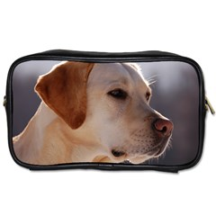 3 Labrador Retriever Travel Toiletry Bag (Two Sides)