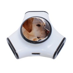 3 Labrador Retriever 3 Port USB Hub