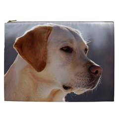 3 Labrador Retriever Cosmetic Bag (XXL)