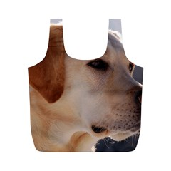 3 Labrador Retriever Reusable Bag (M)