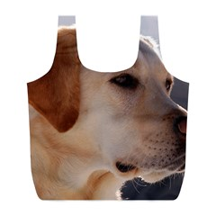 3 Labrador Retriever Reusable Bag (L)