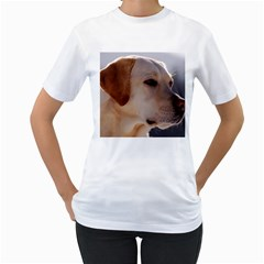 3 Labrador Retriever Women s T-Shirt (White)